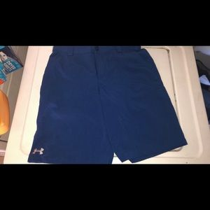 Youth under Armour golf shorts